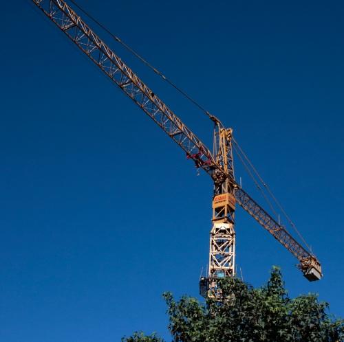 Grúa de construcción