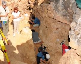 Yacimiento arqueológico 'Calvero de la Higuera'.
