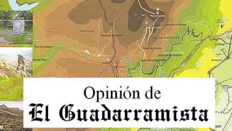 Mapa de sendas de San Lorenzo de El Escorial