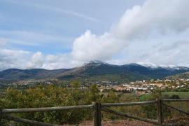 Mirador en la Sierra de Guadarrama