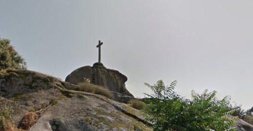 Cruz de la horca, en el municipio de El Escorial.