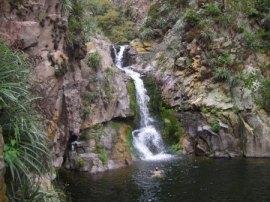Cascada de los Hornillos.