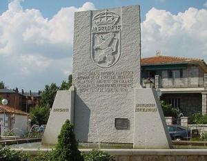 Monumento a la piedra, Alpedrete.
