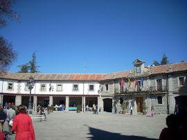 Plaza Mayor de Guadarrama.
