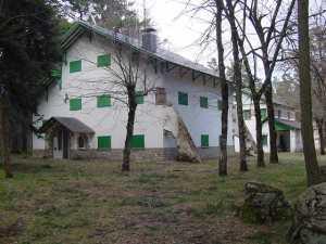 Casa forestal de 'La Campanilla'.
