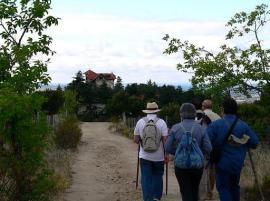 La Sociedad Camineros del Real fomentan las rutas por caminos históricos.