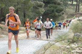 Edición de una carrera de montaña.