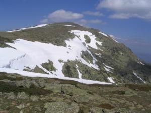 Cima de Peñalara, una de las cumbres por las que se extiende el Parque Nacional de la Sierra de Guadarrama.