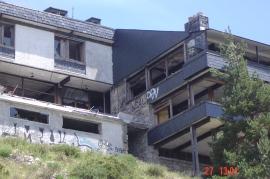 Aspecto del edificio del Club Alpino Guadarrama. (Asoc. Pto. Navacerrada).