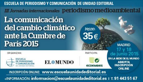 III Jornadas Internacionales de Periodismo Medioambiental