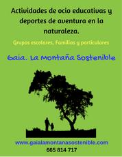 Gaia. La montaña sostenible