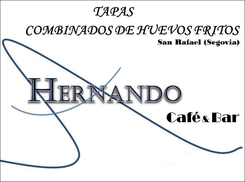 HERNANDO, Café&Bar. San Rafael (Segovia)