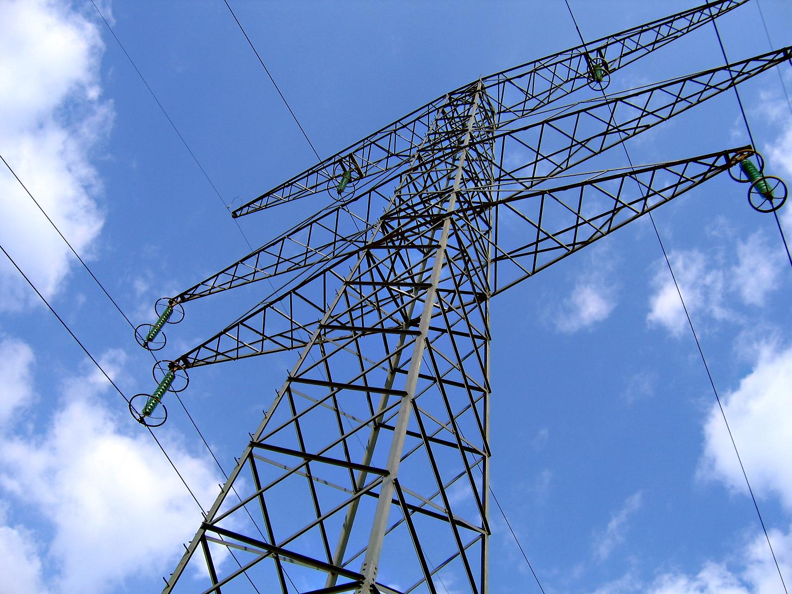 Torre de la Línea de Alta Tensión.