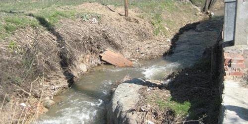 Arroyo del Molino tras un desbroce. Foto: Globalízate.