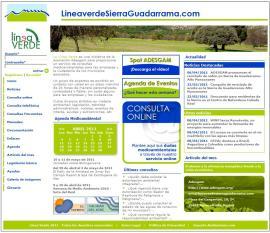 Línea Verde Sierra de Guadarrama.