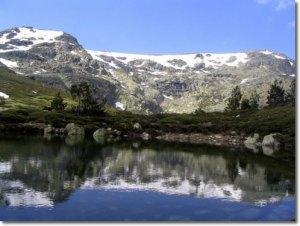 Laguna de Peñalara, en el corazón del Parque Nacional de la Sierra de Guadarrama.