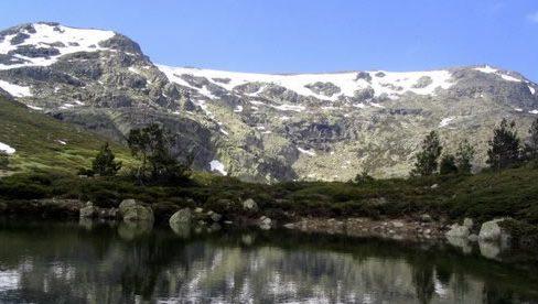 Peñalara, en el Parque Nacional de la Sierra de Guadarrama.