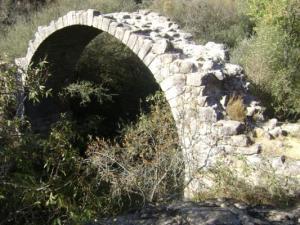 Puente de La Alcanzorla. (Foto: Senderismo Galapagar).
