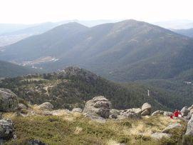 Valle de la Fuenfría visto desde Siete Picos. (Foto: Miguel303xm).