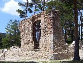 Ruinas del Convento de Casarás o Casa de Eraso. (Foto Jonathan Gil Muñoz).