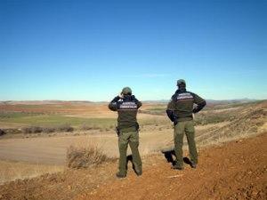 Agentes forestales. (Foto: Apaf).
