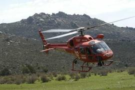 Helicóptero del GERA. (Foto: GERA).