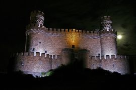 Castillo de Manzanares El Real.