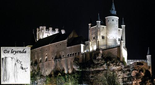 Alázar de Segovia.