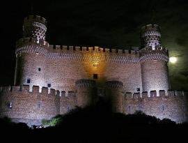 Castillo de Manzanres El Real.