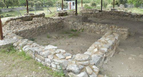 Yacimiento de la mansio de Miaccum-El Beneficio. (Foto: CAM).