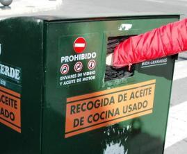 Sistema de recogida de aceite.