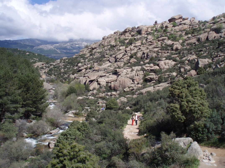 Zona baja de La Pedriza.