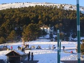 El puerto de Cotos en la actualidad tras eliminarse la estación de esquí.