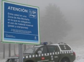 Los temporales hacen de la montaña un lugar donde extremar las precauciones.