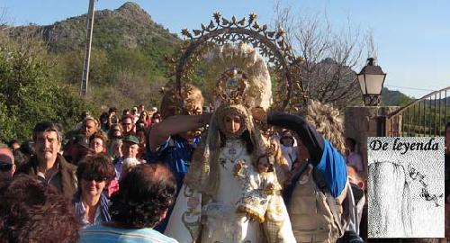 La Virgen de Navahonda. (Foto Diario de la Sierra).