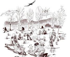 Cartel de la plantación de ARBA.
