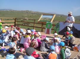 La educación ambiental de los menores es vital para ANAPRI.