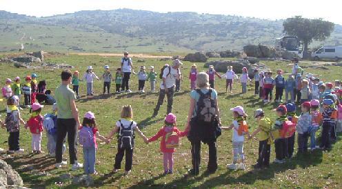 """""""Los niños asumirán en un futuro la conservación del medio ambiente"""""""