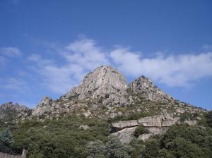 Pico Miel, en el municipio de La Cabrera, en la Sierra Norte.