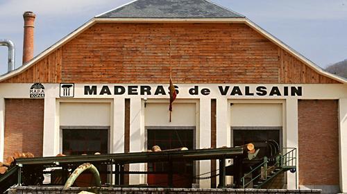 Aserradero de Valsaín.