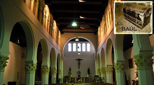 La Sinagoga Mayor o Sinagoga del Corpus Christi.