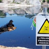 Reclaman la limpieza de la laguna del aceite de Arganda del Rey