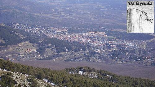 Miraflores de la Sierra desde La Najarra.