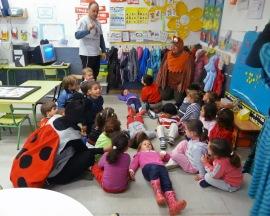 Actividad infantil con alumnos del Colegio Virgen de la Poveda.