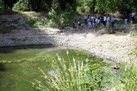 Una de las lagunas restauradas.