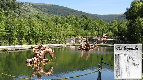 El jardín mitológico.