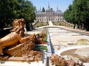 Palacio del Real Sitio de San Ildefonso.