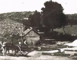 Una de las fotos antiguas de Torrelodones que se podrán ver en la exposición.