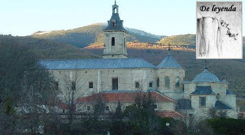 El perro flamígero de El Monasterio de El Paular.