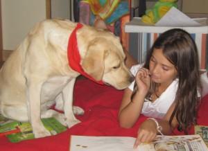 Lectura con perros.
